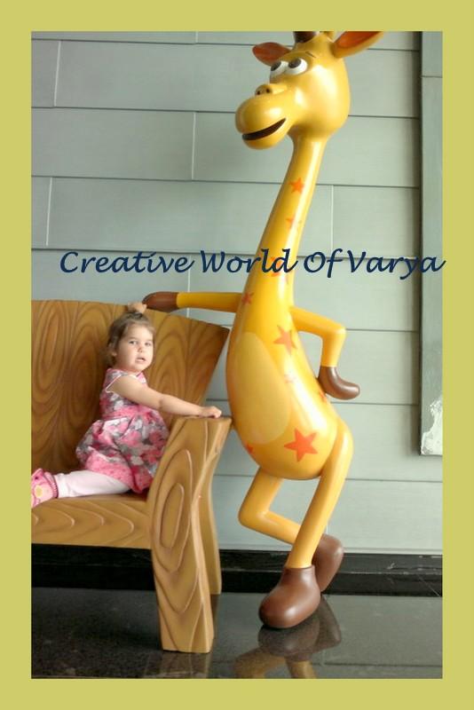 Silent Monday Giraffe
