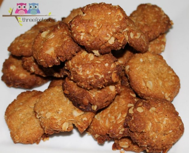 cooked anzac biscuits