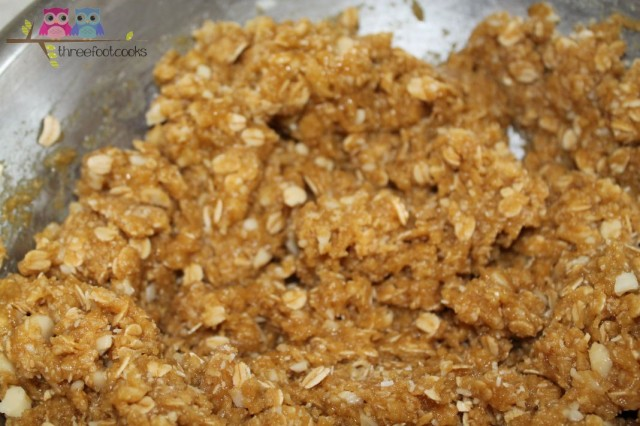 mixture for anzac biscuits