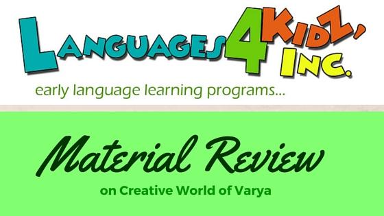 Language4Kidz {Material Review}