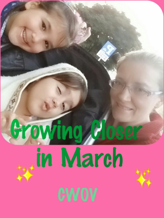 Concentrating on Growing Closer in March