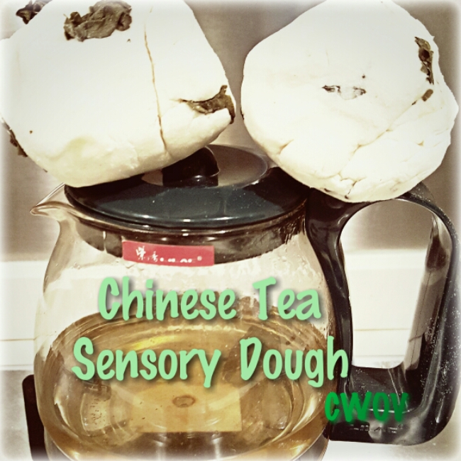 Chinese Tea Sensory Dough