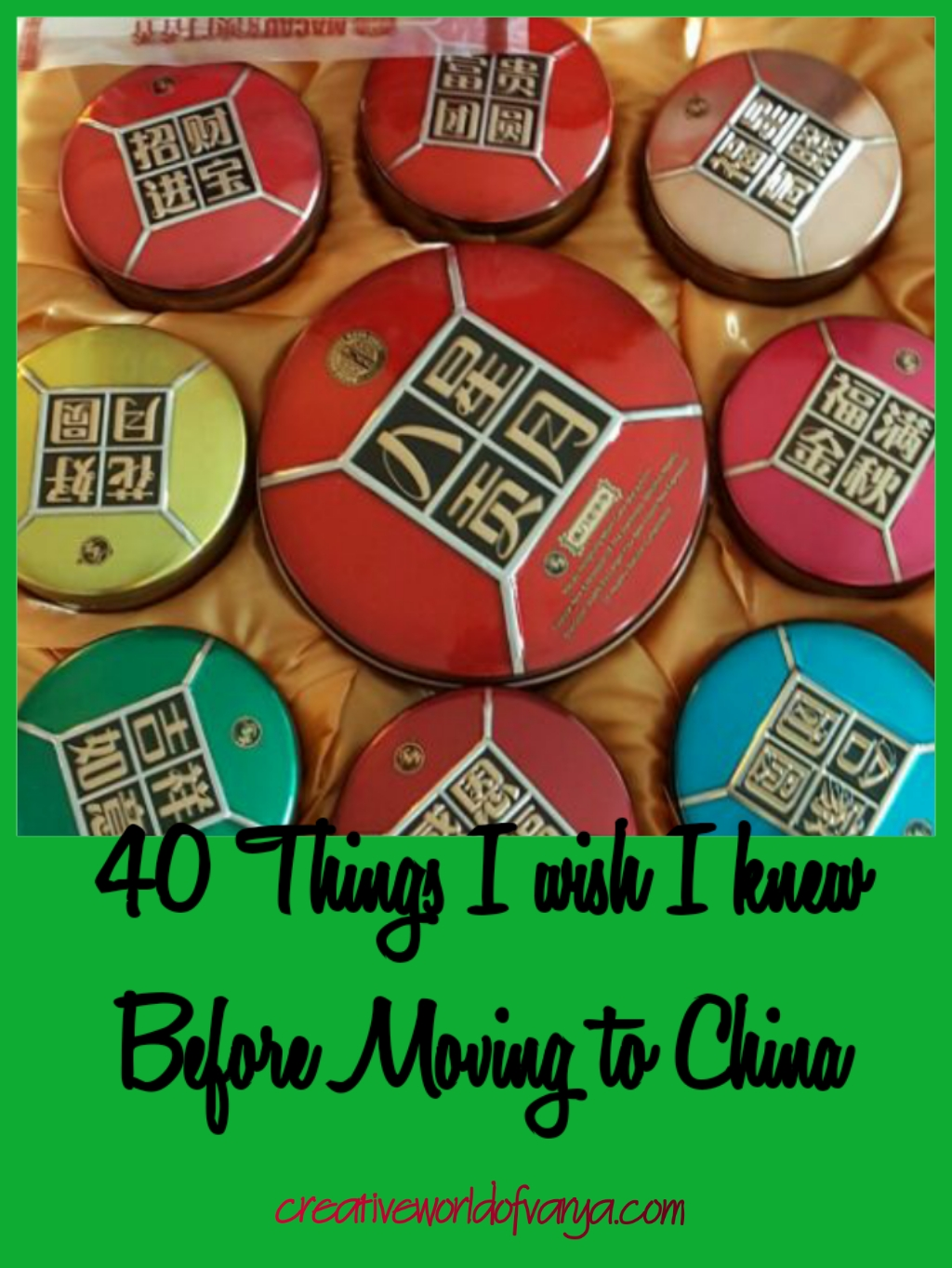 40 Things I wish I knew Before Moving to China