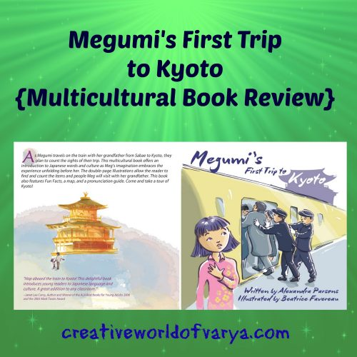 Megumi's First Trip to Kyoto {Multicultural Book Review}